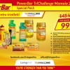 PowerBar special pack, exclusiv pentru triatletii TriChallenge Mamaia